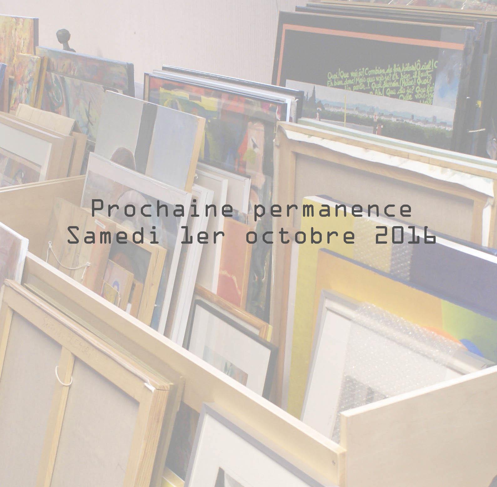Permanence Octobre 2016