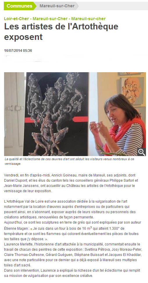 article NR Mareuil