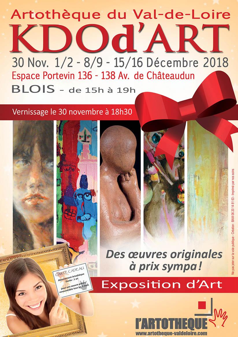 KDOd'ART 2018 : des oeuvres d'Art à prix sympa pour les fêtes