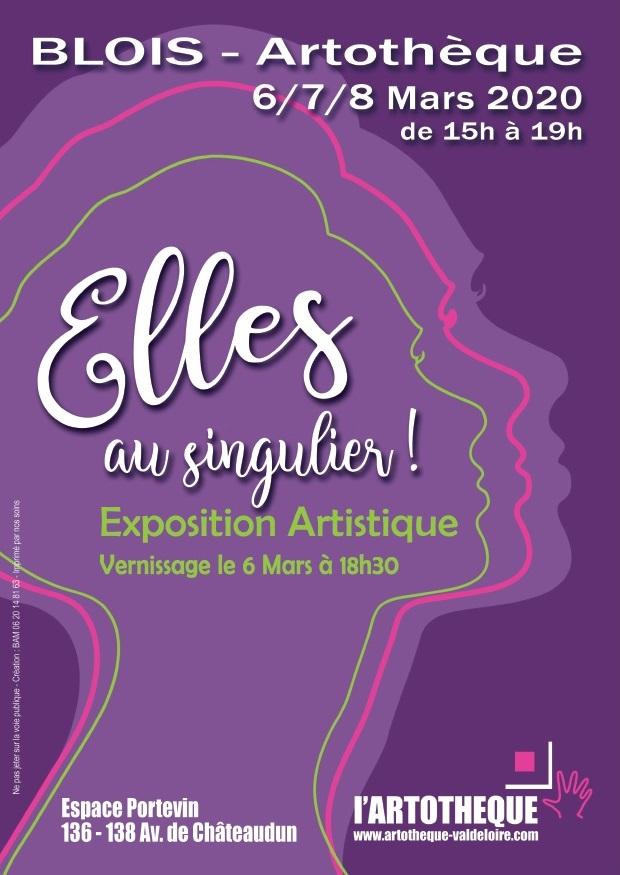 """Exposition """"Elles au singulier"""""""