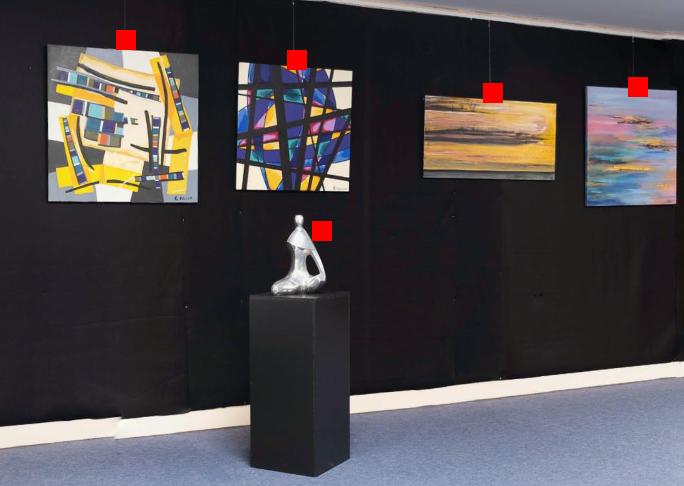 Visite virtuelle de l'Artothèque